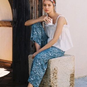 NEW NWT Anthropologie Maeve Large Wide Leg Pants